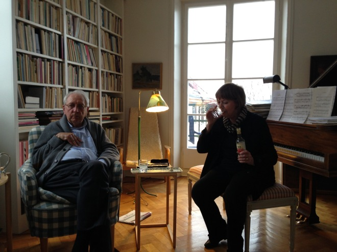 Tomas and Monica Tranströmer in Stockholm 2013