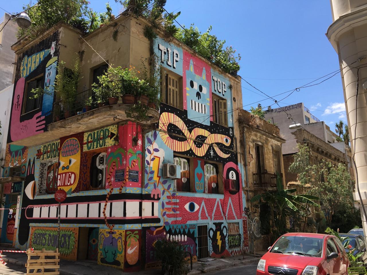 Athens, Epicuros str
